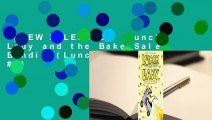 [NEW RELEASES]  Lunch Lady and the Bake Sale Bandit (Lunch Lady, #5)