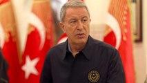Milli Savunma Bakanı Akar'dan şehit er için duygulandıran başsağlığı mesajı: Sizi toprağa değil yüreğimize gömdük