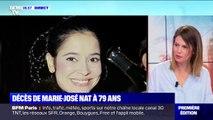 Marie-José Nat est morte ce jeudi à l'âge de 79 ans