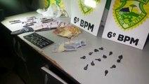 Tráfico de drogas: dois são detidos pelo Choque no Bairro Morumbi