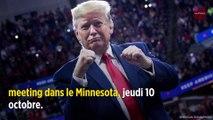 De retour en campagne, Donald Trump montre les crocs