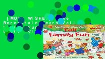 [MOST WISHED]  The Berenstain Bears Fall Family Fun (The Berenstain Bears  Classics)