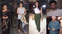 The Sky Is Pink: Jhanvi Kapoor, Vidya Balan & other celebrities attend movie screening | FilmiBeat