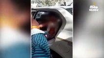 ब्वॉयफ्रेंड के साथ कैब में घूम रही थी पत्नी, पति ने की युवक की पिटाई