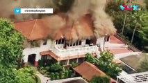 VIDEO: Gedung Kedubes RI di Bangkok Terbakar