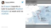 Le Japon s'apprête à subir le puissant typhon Hagibis ce week-end