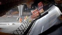 3 morts dans l'effondrement d'un pont sur des voitures en Chine