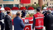 Barış Pınarı Harekatı'nın ilk şehidi 9 aylık bebek ve şehit memur için tören düzenlendi