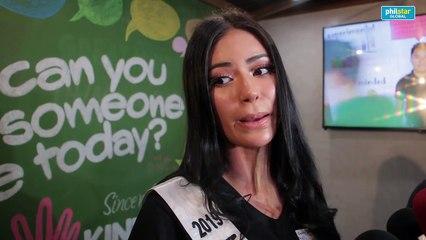 Miss Universe Philippines 2019 Gazini Ganados on her preparation