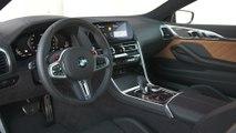 The new BMW M8 Coupé Interior Design
