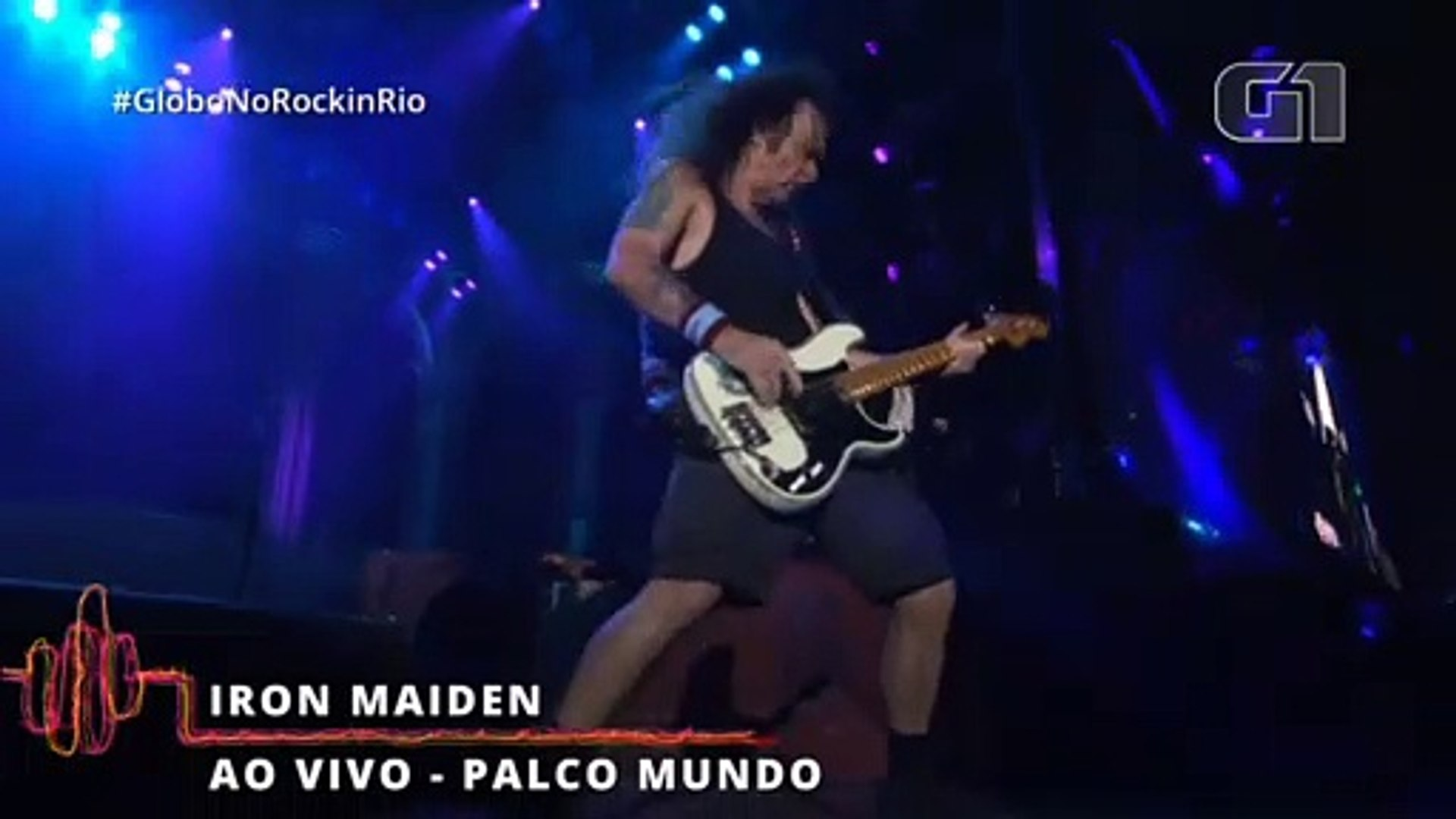 Iron Maiden Fear Of The Dark Rock In Rio 2019 Video Dailymotion