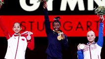 Biles by miles: Gymnast Simone Biles claims record 5th world title