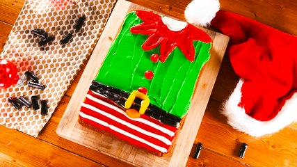 Elf Jumper Poke Cake