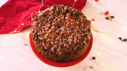 Aperol Christmas Cake