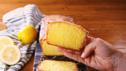 Lemon Drizzle Cake Recipe - How To Make Lemon Drizzle Loaf Cake