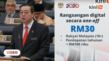 Gov't to give one-off RM30 credit for e-wallet users