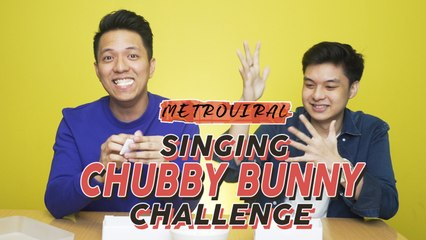 Chubby Bunny Challenge | Drei and TJ