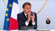 Emmanuel Macron - Pacte Productif