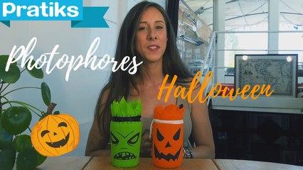Halloween : Créer des photophores Jack'o-lantern et Frankenstein