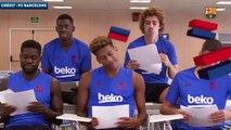 Quand les Français du Barça se moquent d'Ousmane Dembélé