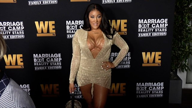 """Natalie Nunn """"Marriage Boot Camp: Family Edition"""" Premiere Red Carpet"""
