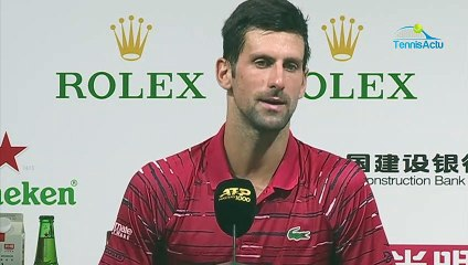 ATP - Shanghai 2019 - Defeat against Stefanos Tsistipas and Novak Djokovic will no longer be world number one on November 4th