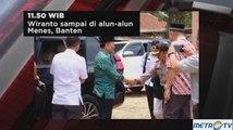 Kronologi Penusukan Wiranto di Pandeglang