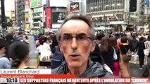 Rugby à XV - Coupe du monde :  les supporters français mécontents après l'annulation du « Crunch »