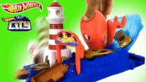 HOT WHEELS CITY Octopus Pier Attack 2018/2019 Racing Set    Keith's Toy Box