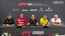 F1 2019 Japanese GP - Friday (Team Principals) Press Conference