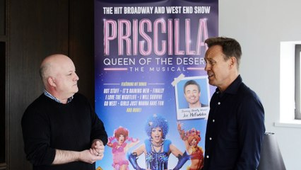 Jason Donovan discusses his new production of Priscilla, Queen of the Desert and his solo show, Even More Good Reasons
