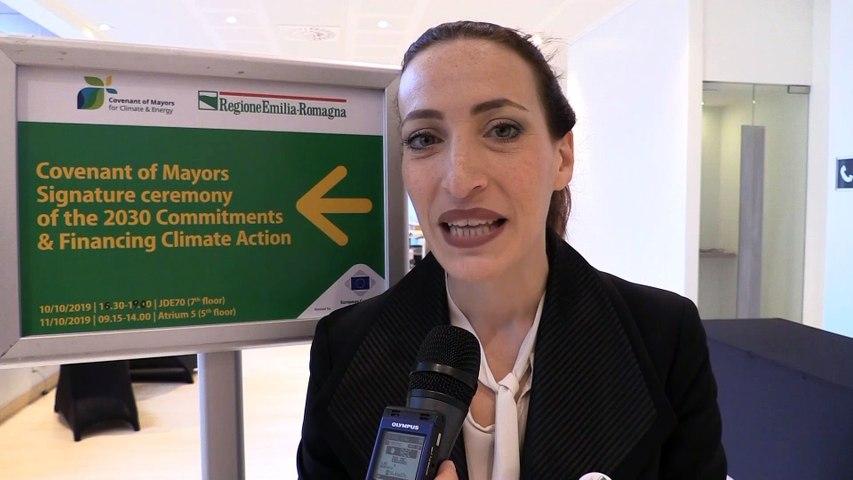 Brighenti (CdR) porta a Bruxelles 60 sindaci dell'Emilia-Romagna per il Patto sul clima