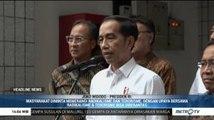 Jokowi Minta Kasus Penusukan Wiranto Diusut Tuntas