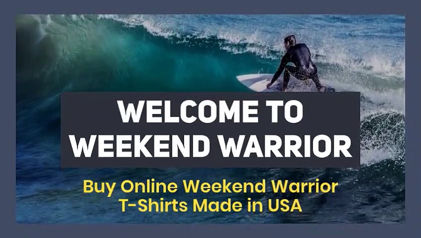 Buy Inspire and motivation printed T-Shirts | WEEKEND WARRIOR
