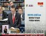 Kerajaan memperuntukkan RM15.6 bilion kepada Kementerian Pertahanan