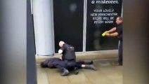 La policía reduce con una taser a sospechoso en el ataque de Manchester