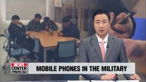 Use of personal phones in the military has reduced crime: Study
