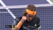 Djokovic stunned by Tsitsipas