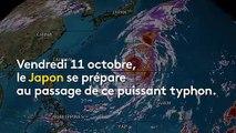 Commerces barricadés, vols annulés... Les Japonais s'apprêtent à affronter le typhon Hagibis