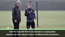 Wilshere grateful for Wenger's trust at Arsenal