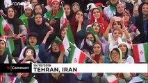Football : le retour des Iraniennes au stade