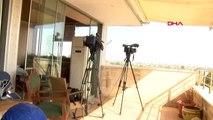 Mardin nusaybin'de gazetecilerin bulunduğu binaya ikinci kez ateş açıldı+
