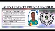 ALEXANDRA TAKOUNDA ENGOLO●II Best Skills & Passes II● ECLAIR FC (CAMEROON)