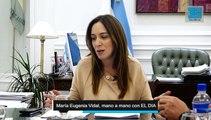 María Eugenia Vidal con EL DIA (Parte 1)