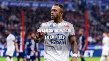 OL - Menphis Depay : les stats de sa saison 2019 / 2020