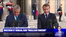 """Emmanuel Macron: """"Notre survie dans la géopolitique mondiale ne tient qu'à la force de l'Europe"""""""
