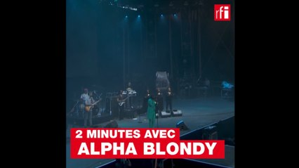 Deux minutes avec Alpha Blondy