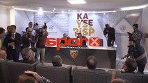 Samet Aybaba, Kayserispor'a imza attı!
