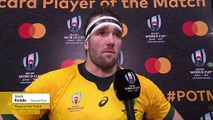 Izack Rodda wins Player of the Match for Australia