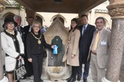 Historic water fountain restored and unveiled in Sleaford